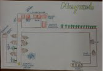 Map of Maycomb - To Kill A Mockingbird